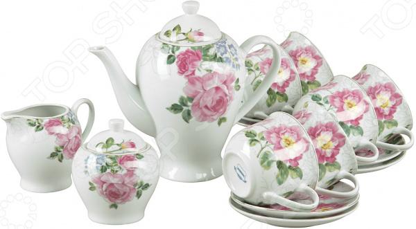 Чайный набор Rosenberg «Чайная роза»