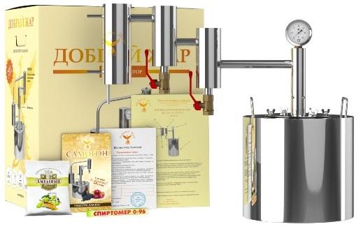 Самогонный аппарат Добрый Жар «Экстра Люкс» дистиллятор проточный добрый жар универсальная система дж3 35 литров