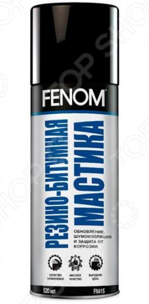 Мастика резино-битумная Fenom FN 415 полироль панели глянцевый fenom горная свежесть fn 410