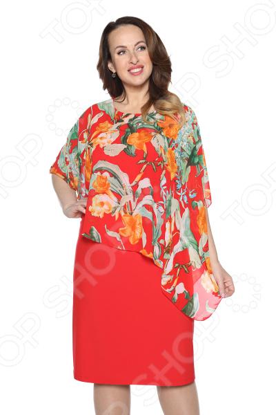 Платье Blagof «Флоренция». Цвет: красный