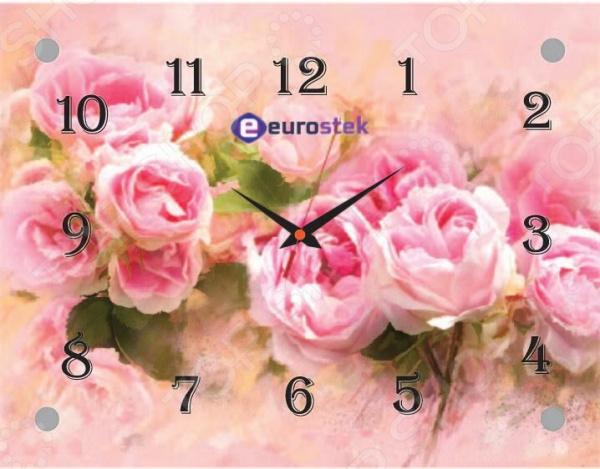 Часы настенные Eurostek 2026-402Э часы настенные eurostek 2026 сн r671