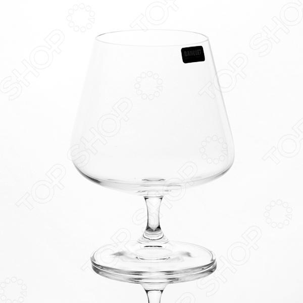 Набор бокалов Banquet Crystal 02B2G003560 sistema набор бокалов для бренди brandy 840 мл 2 шт