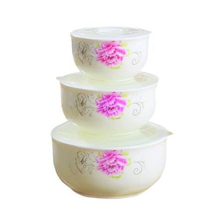Купить Набор керамических контейнеров Irit IRH-320C «Нежный пион»
