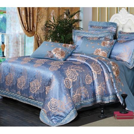 Купить Комплект постельного белья «Великолепная султанша» Серия Люкс. Цвет. Небо