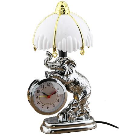 Купить Часы-светильник «Добрый Слон»