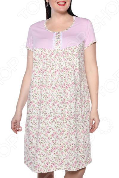 Ночная сорочка El Fa Mei «Девичьи сны». Цвет: сиреневый el fa mei боди слипы