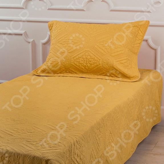 Комплект для спальни: покрывало и наволочка Santalino 806-034 для спальни