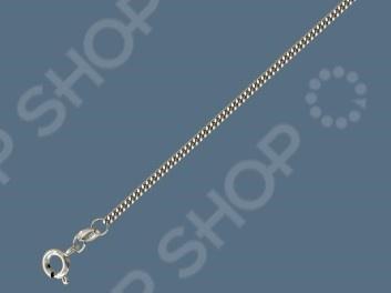 Цепь серебряная 01Ц7500850. Панцирное плетение