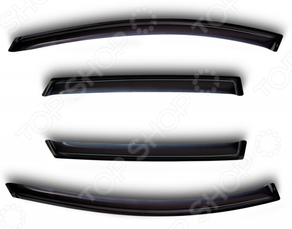 Дефлекторы окон SIM Honda CRV, 2007-2012 аксессуары