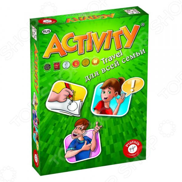 Игра карточная Piatnik Activity компактная для всей семьи