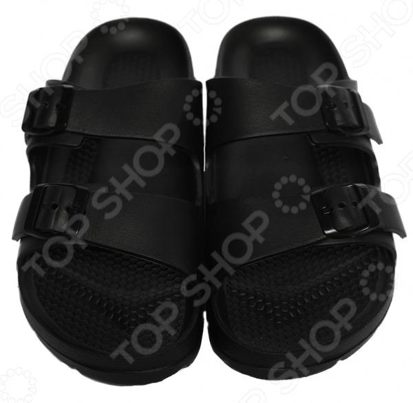 Шлепанцы Mon Ami «Теплая волна». Цвет: черный обувь тамарис летняя
