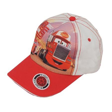 Купить Бейсболка для мальчика Disney «Тачки» ЯВ119672. Цвет: белый, красный
