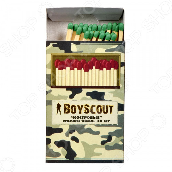 Спички Boyscout 61029 спички колумб 80мм 20шт boyscout 61033