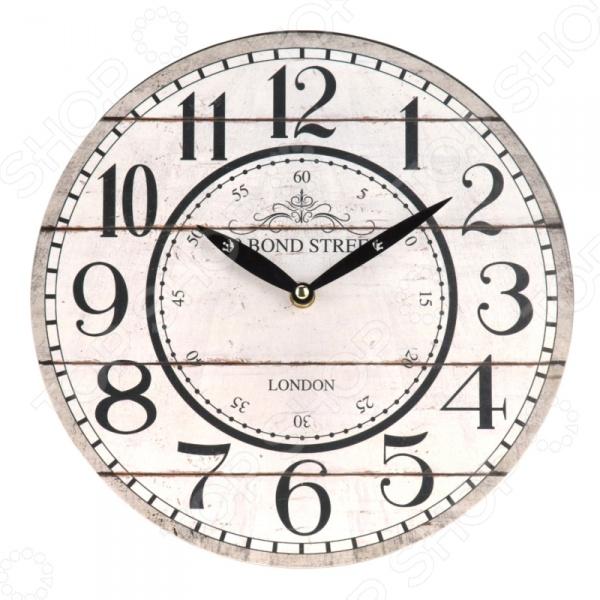 Часы настенные Mitya Veselkov Bond Street часы настенные mitya veselkov пластинка цвет белый черный mvc nast 027