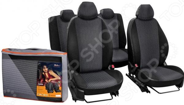 Набор чехлов для сидений Airline Chevrolet Lacetti, 2004 / Daewoo Gent