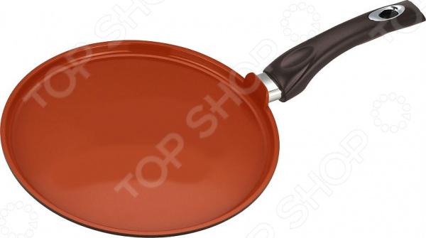 Сковорода блинная с керамическим покрытием Vitesse Cherry сковороды bradex сковорода блинная с керамическим покрытием кросс