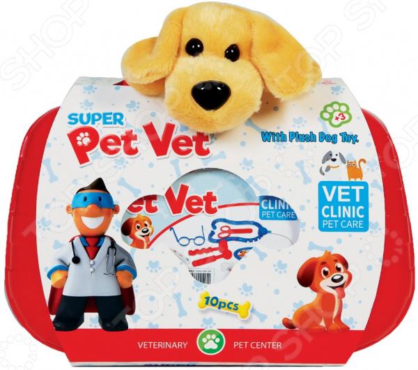 Игровой набор с мягкой игрушкой Terides Super Pet Vet