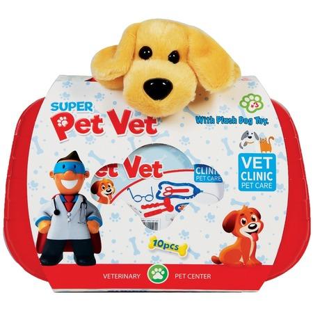 Купить Игровой набор с мягкой игрушкой Terides Super Pet Vet