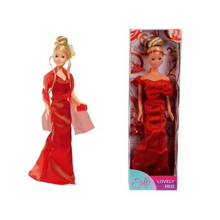 Купить Кукла Simba Штеффи в красном вечернем платье. В ассортименте