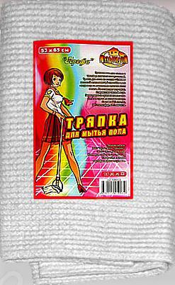 Тряпка для мытья пола Мультидом «Профи» КВ62-3 пробиотики для уборки дома