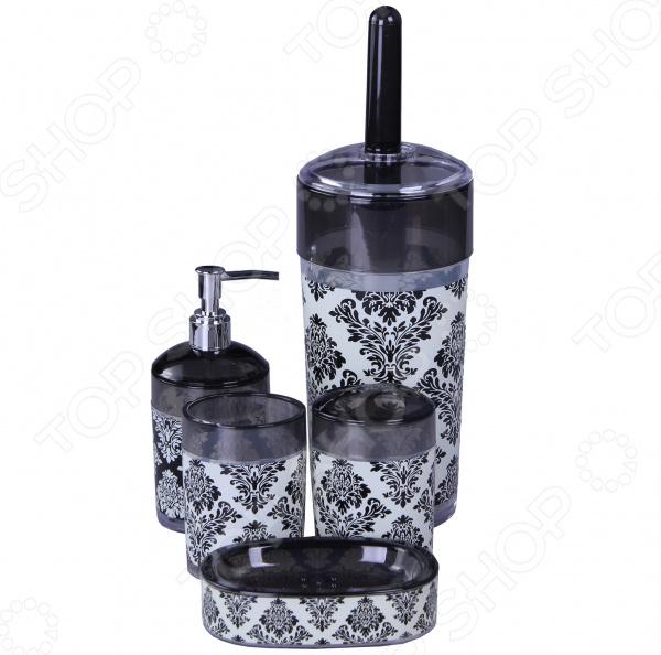 Набор аксессуаров для ванной комнаты Patricia «Узор» аксессуары для ванной комнаты в москве