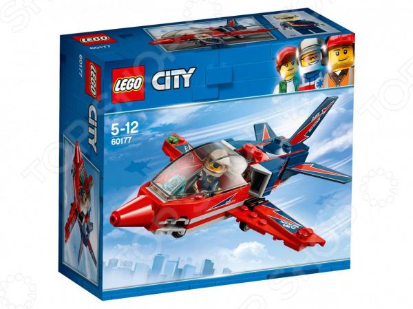 Конструктор игрушечный LEGO City Great Vehicles «Реактивный самолет»