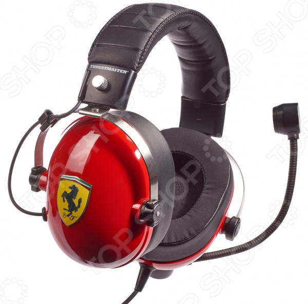 Гарнитура игровая Thrustmaster T.RACING Scuderia Ferrari Edition для Xbox One/PS 4/Nintendo Switch/3DS и ПК
