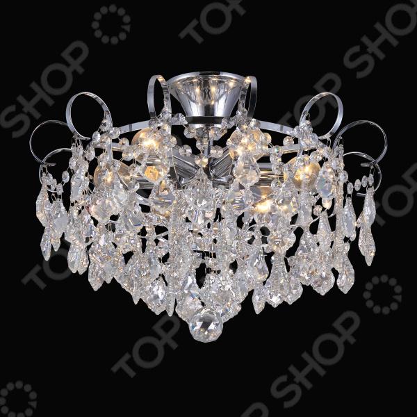 Люстра потолочная Natali Kovaltseva Happy Diamonds 11545/6C Chrome