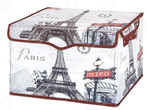Кофр для хранения вещей EL Casa «Париж - Метро»