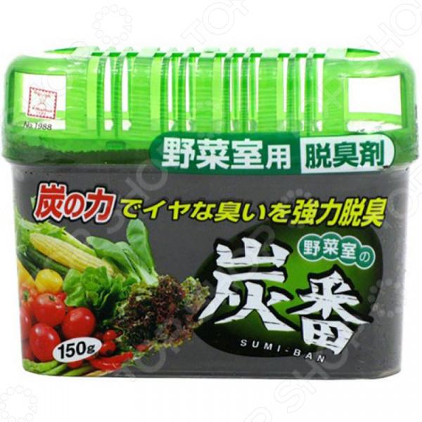 Фото Поглотитель запахов Kokubo Deodorant Sumi-Ban для холодильника с древесным углем