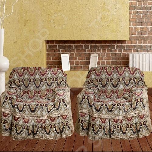 Zakazat.ru: Комплект накидок на кресло МарТекс «Персидские узоры»