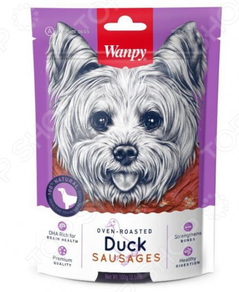 Лакомство для собак Wanpy «Утиные сосиски» chewell лакомство для собак всех пород утиные чипсы уп 100г
