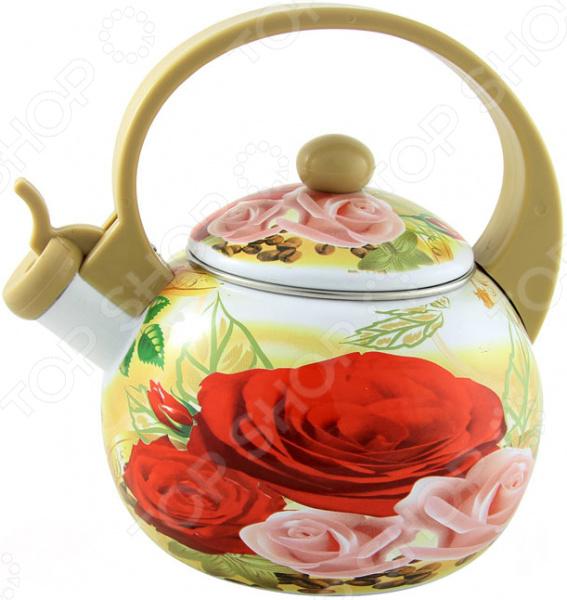 Чайник со свистком Bohmann BH - 8143. В ассортименте