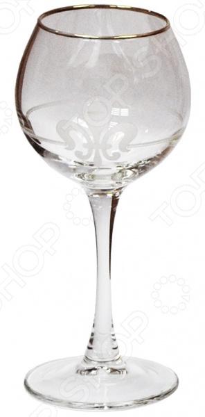 Набор фужеров для вина Гусь Хрустальный «Королевская лилия» набор бокалов для бренди гусь хрустальный королевская лилия