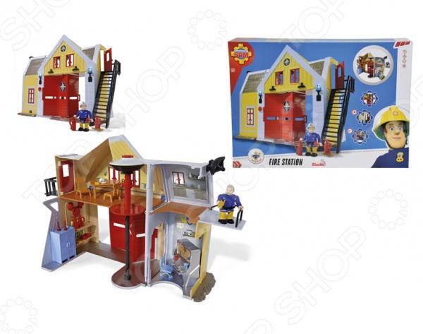 Набор игровой со светозвуковыми эффектами Simba «Пожарная станция»