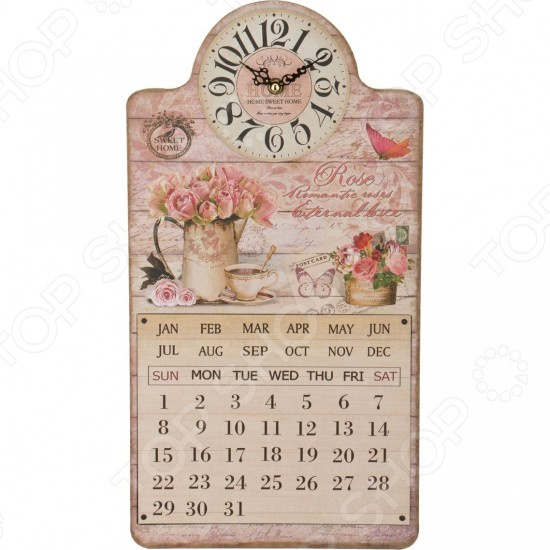 Часы-календарь Lefard 799-106