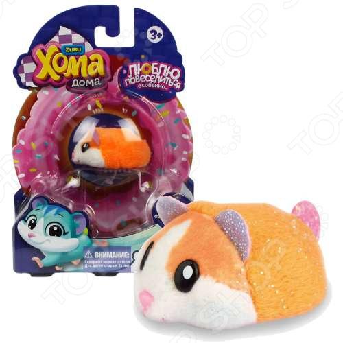 Мягкая игрушка 1 Toy «Хомячок оранжевый»