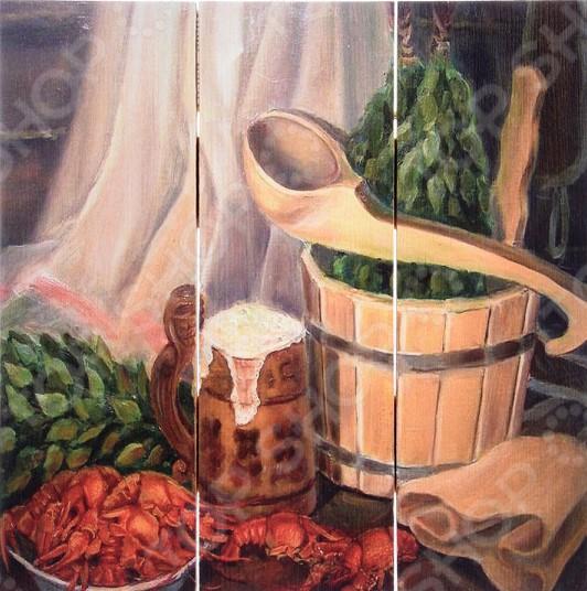 Картина для бани Банные штучки «С легким паром» 1