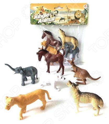 все цены на Набор фигурок Shantou Gepai 2A006-1 Jungle animal