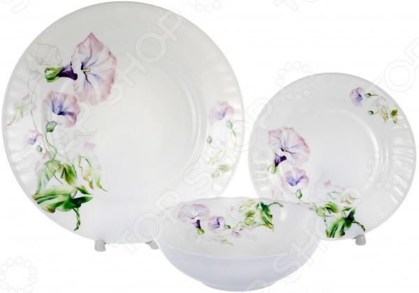 Набор столовой посуды OlAff «Скарлет». Количество предметов: 13 набор столовой посуды olaff скарлет количество предметов 13