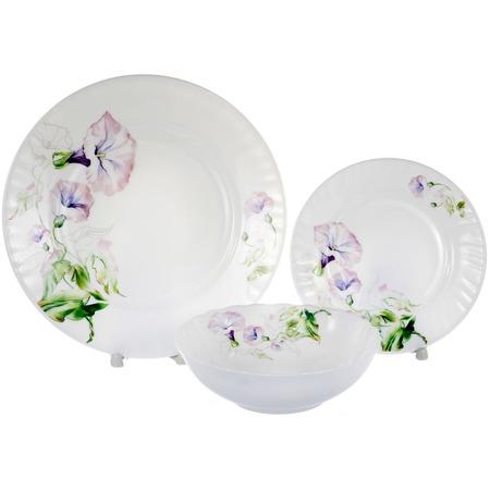 Купить Набор столовой посуды OlAff «Скарлет». Количество предметов: 13