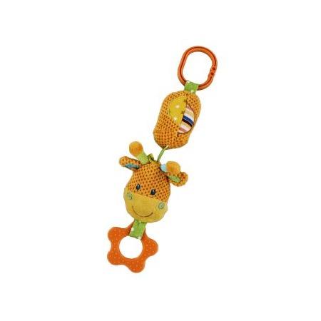 Купить Игрушка подвесная Жирафики «Жирафик с колокольчиком»