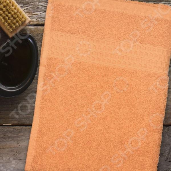 Полотенце махровое Amore Mio AST Classic. Цвет: оранжевый полотенце махровое amore mio ast classic цвет малиновый