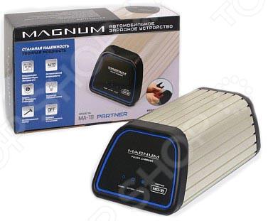 Устройство зарядное для АКБ НПП «Оборонприбор» MAGNUM MA-18 PARTNER автомобильные зарядные устройства magnum зарядное устройство для автомобильных аккумуляторов magnum sa 8 pioneer