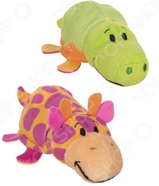 Мягкая игрушка ароматизированная 1 Toy «Вывернушка 2в1: Крокодил-Жираф»