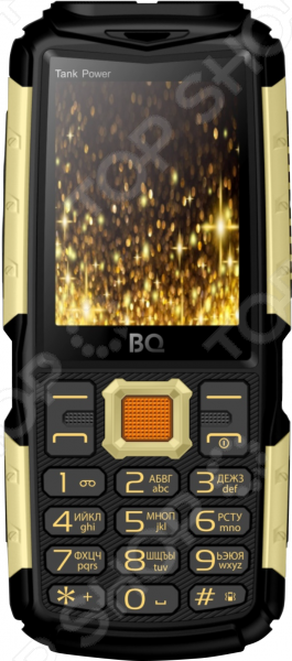 Мобильный телефон BQ «ТанкПавер» телефон dect gigaset l410 устройство громкой связи