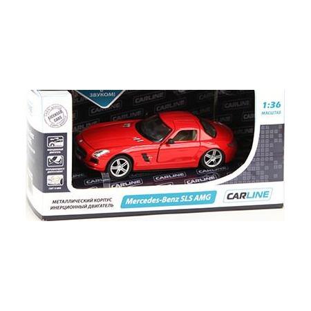 Купить Модель автомобиля 1:36 Carline Mercedes-Benz SLS AMG. В ассортименте