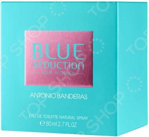 Туалетная вода для женщин Antonio Banderas Blue Seduction Woman, 80 мл