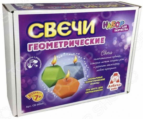 Набор для изготовления свечей Азбука тойс СВ-0004