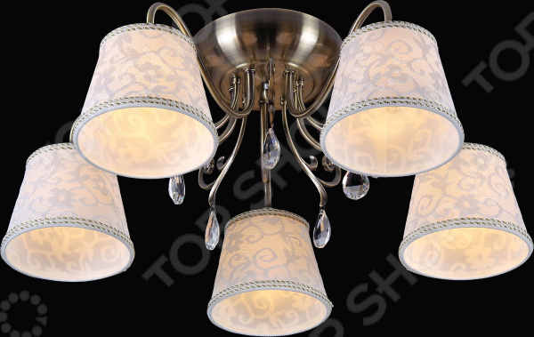 Люстра потолочная Natali Kovaltseva 10794/5C ANTIQUE люстра natali kovaltseva 11301 5c antique